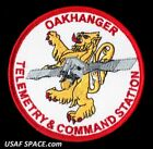 OAKHANGER TELEMETRY  COMMAND STATION RAF USAF SATELLITE SPACE PATCH