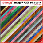 FAUX FAKE FUR SOLID SHAGGY LONG PILE FABRIC 60 WIDE BY THE YARD COSTUME COAT