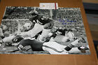 CHICAGO BEARS GALE SAYERS SIGNED 16X20 PHOTO HOF 1977 JSA CERTIFIED