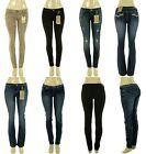 Lot Womens Denim Skinny Boot Cut Vintage Stretch Jeans Pants 0 1 3 5 7 9 11 13