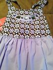NWT GYMBOREE JUNGLE GEM TANK 10 12 PURPLE FLOWERS SLEEVELESS
