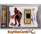 2008-09 Russell Westbrook Upper Deck SP Authentic RC 2 Clr Patch Auto BGS 9.5 10