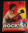 1979 VINTAGE TOPPS ROCKY II 2 TRADING CARD BOX 36 PACKS SYLVESTER STALLONE