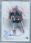 2011 Prime Signatures Shane Vereen On Card Auto Rc Serial # to 249