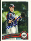 2011 Topps Pro Debut WILL MIDDLEBROOKS Signed Card RED SOX rc auto GREENVILLE TX