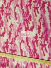 CAMO PRINT POLAR FLEECE FABRIC Pink 60 WIDTH SOLD BY THE YARD 216