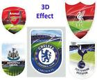 Large 3D Universal Sticker Football Club Official for Laptop Tablet PS3 XBOX Con