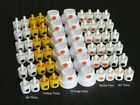 LOT Spray Paint Can CAPS Mixed Nozzle Tips NY Fats Thins Outline Rusto Dots