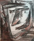 2001 abstract pastel drawing