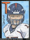 Super Collector! TIM TEBOW 2011 BRONCOS ABS Sketch Cards 1 1 *One of a Kind*