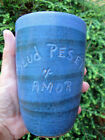Vintage Puerto Rican Pottery Corp Tumbler- Hal Lasky