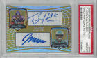 PERCY HARVIN & JEREMY MACLIN 2009 Bowman Sterling DUAL Auto. RC #HM - PSA 10