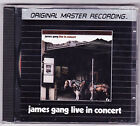 James Gang Live in Concert Mobile Fidelity Sound Lab MFSL Silver Disc CD