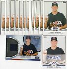 Corey Knebel RC lot(12) Topps USA AU 10 non AU Bowman Sterling Game Used Refract