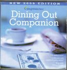 Weight Watchers Dining Out Companion Restaurants Eating Out POINTS 2009 Edition