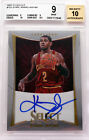 2012-13 Kyrie Irving Panini Select Prizm RC Rookie Auto SP 149 BGS 9 with 10