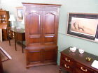 English Jacobean Oak Blind Door Corner Cabinet c.1900  Inv.#993B