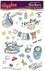 Giggles Baby Boy Scrapbooking Stickers GKR 001
