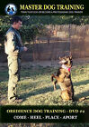 Obedience Dog Training DVD 2 Commands Come Heel Place Aport