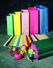 12 pc Colored Paper Bags You Choose The Color Birthday Treat Party Bag Gift