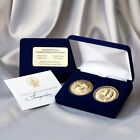 President Obama VP Biden Commemorative 2 Coin Set Inauguration Bronze