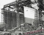 Photograph  RMS Titanic & Olympic Steamships Under Construction 8x10
