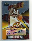 2003-04 Topps Finest Dwyane Wade Autograph Auto Rookie Card - Serial #ed 153 999