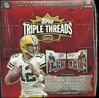 2012 Triple Threads Factory Sealed Football Hobby Box Luck & Griffin RC's ??