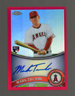 2011 Topps Chrome #178 Mark Trumbo (Red Refractors Auto 16 25) Baseball Rookie