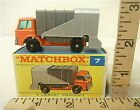 Vintage Lesney Matchbox #7 Ford Refuse Truck w/ F Type Original Box MB 7 Unused