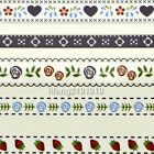 water transfer nail sticker decals for nail art decoration Lace Flower Design 61