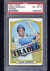 Frank Robinson 1972 Topps #754 High # series - PSA 8 Los Angeles Dodgers