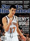 Jeremy Lin Signed Sports Illustrated w COA Houston Rockets New York Knicks #1