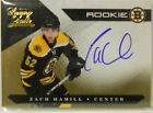 2010-11 Luxury Suite Zach Hamill SP Gold Rookie Autograph Card # 5 10