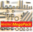 Yamaha RD125LC - Nut / Bolt / Screw Stainless Fasteners MegaPack