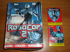 1990 Topps Trading Cards Full Box - Robocop 2 - 36 wax packs + Store Poster