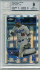 2013 TOPPS CH XFRACTOR YASIEL PUIG ROOKIE CARD-BECKET GRADED MINT 9- 1 SUB 10