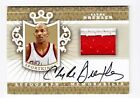 2013 Sportkings Series F Clyde Drexler Gold 2 Color Patch On Card Auto Sp 10