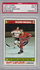 1977 78 Topps #218 GUY LAFLEUR Rec Breaker PSA 9 MINT Montreal CANADIENS