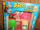 POPEYE EXXON SERVICE STATION  VERY RARE PLAYSET  Vintage   never opened