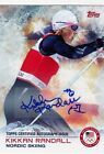 2014 Topps US Olympic and Paralympic Team and Hopefuls Trading Cards 36