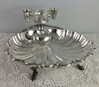 Antique Silver Plate Shell Bowl by Crescent Silverware Mfg. Co circa 1922-1938