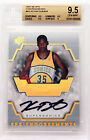 2007-08 Kevin Durant Upper Deck SPX RC Rookie Auto #KD BGS 9.5 10
