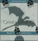 Game of Thrones Season 3 Trading Cards Sealed Box by Rittenhouse, 2 Autographs