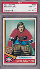 1974 75 Topps #155 KEN DRYDEN PSA 8 NM MT Montreal CANADIENS CENTERED!