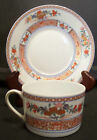 BERNARDAUD Limoges PONDICHERY Tea Coffee Cup & Saucer Plate Set France