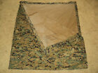 USMC ISSUE WOODLAND MARPAT AND COYOTE REVERSIBLE FIELD TARP FOR CIF TURN-IN