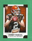 2014 Panini National Convention VIP 1 JOHNNY MANZIEL Browns RC promo card