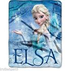 Disney Frozen Elsa Silk Touch Throw Blanket Super Soft!! 40