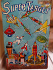 VTG MARX Dart Shooting Game Tin Litho Super Target Space Age Toy Advertising